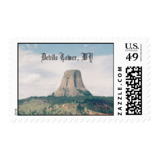 Devils Tower, WY Postage
