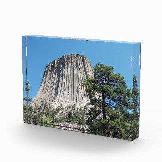 Devils Tower Wyoming Acrylic Award