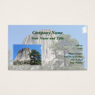 Devils Tower, Wyoming Business Card