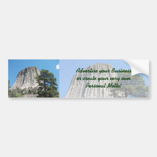 Devils Tower, Wyoming Car Bumper Sticker