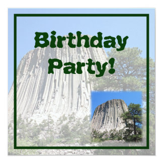 Devils Tower, Wyoming Card