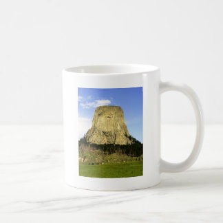 Devil's Tower, Wyoming Classic White Coffee Mug