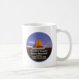 Devil's Tower WYOMING Classic White Coffee Mug