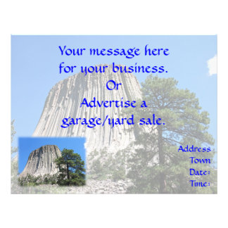 Devils Tower, Wyoming Flyer