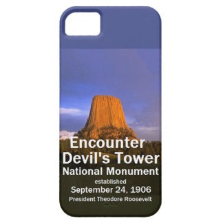 Devil's Tower WYOMING iPhone SE/5/5s Case