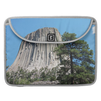 Devils Tower, Wyoming Sleeves For MacBooks