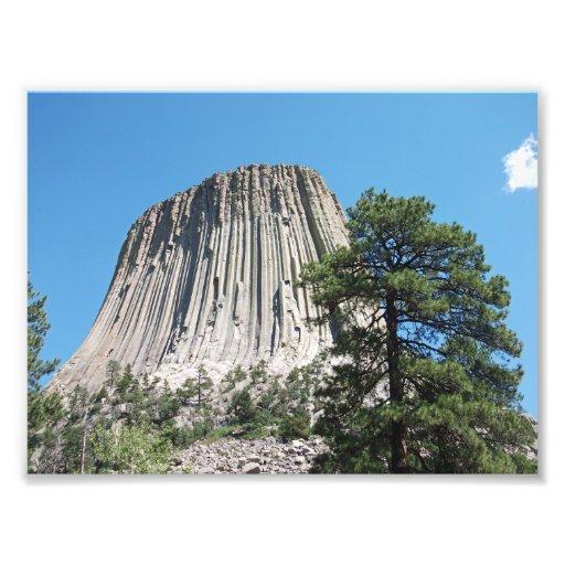 Devils Tower, Wyoming Photo Print