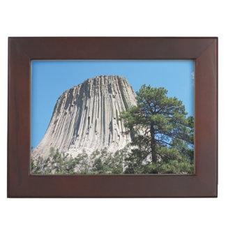 Devils Tower Wyoming Keepsake Box