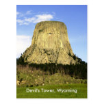 Devil's Tower, Wyoming Postcard