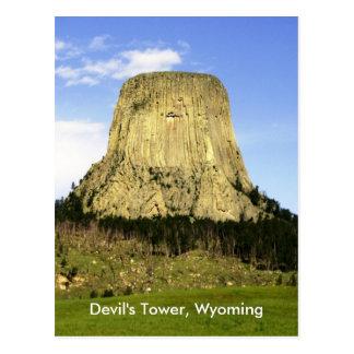 Devil's Tower, Wyoming Postcard