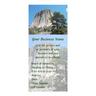 Devils Tower, Wyoming Rack Card Template