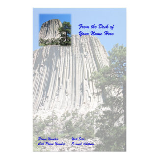Devils Tower, Wyoming Stationery