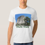 Devils Tower, Wyoming T Shirt