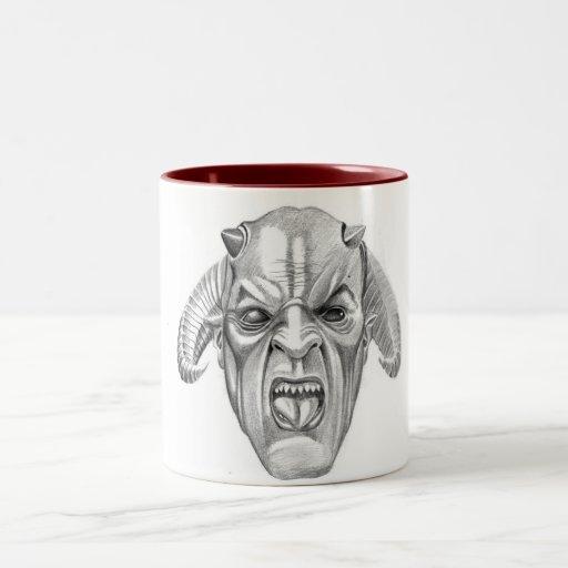 DEVILS Two-Tone COFFEE MUG
