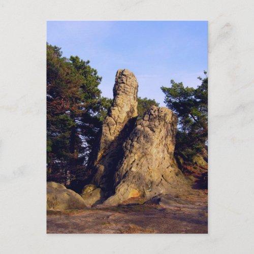 Devils Wall postcard