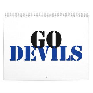 Devils Calendar