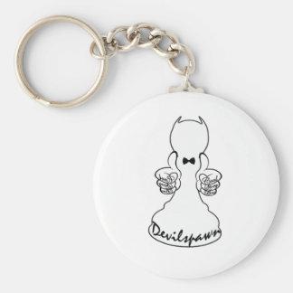 Devilspawn Basic Round Button Keychain