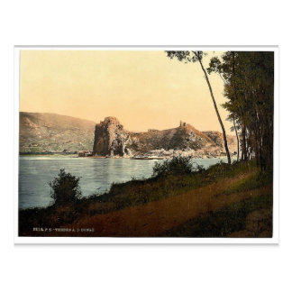 Devin and the Danube River, southwest Slovakia, ne Postcard
