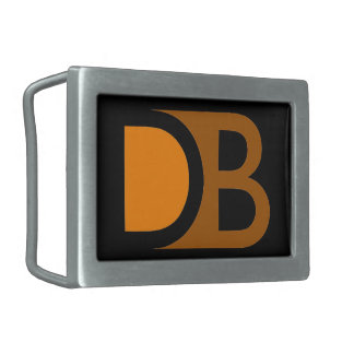 Devin Becker logo belt buckle