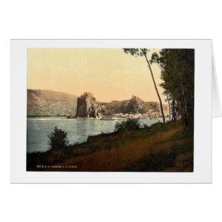 Devin y el río Danubio, sudoeste Eslovaquia, ne Felicitación