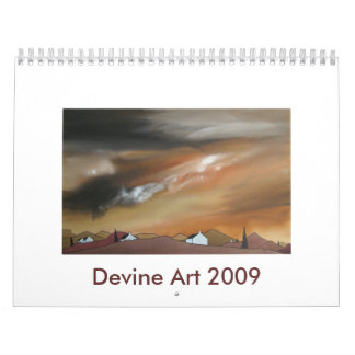 Devine Art Calendar 2009