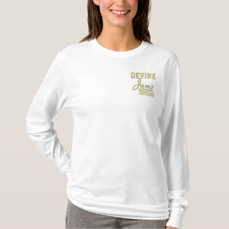 Devine Jamz Gospel Network Embroidered Long Sleeve T-Shirt
