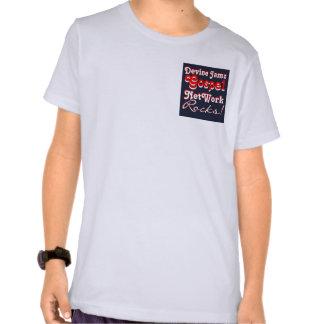 Devine Jamz Gospel Network KIDS Tee Shirts