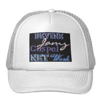 Devine Jamz Gospel Network Trucker Hat