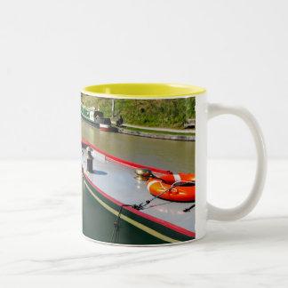 Devizes Canal Two-Tone Coffee Mug