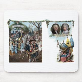 Devoluciones de George Washington a Trenton Tapete De Ratones