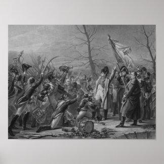 Devoluciones de Napoleon de Elba Póster