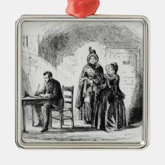Devoluciones de señora Bagnet de su expedición Ornamento De Navidad