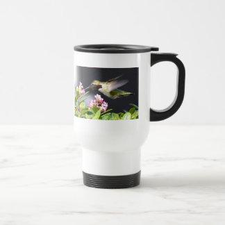 Devoluciones del colibrí taza térmica