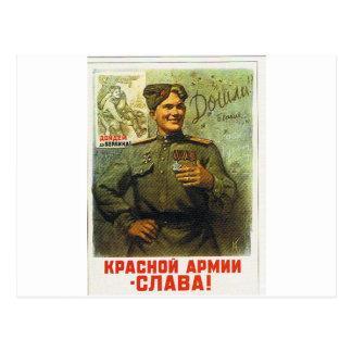 devoluciones del héroe tarjeta postal
