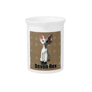 Devon blanco Rex Jarrones