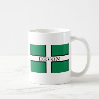 Devon flag coffee mug