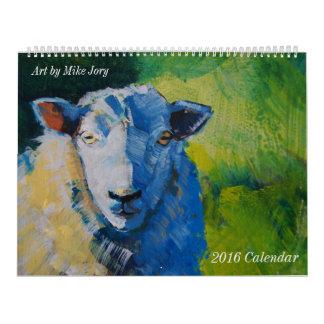 Devon Life Animal and Landscape Paintings Calendar