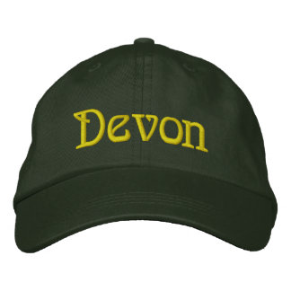 DEVON Male or Female Designer Cap