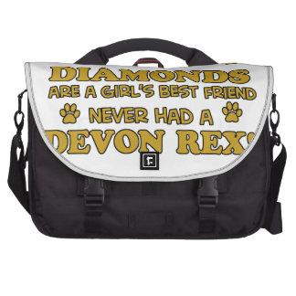 devon rex better than Diamonds Bag For Laptop