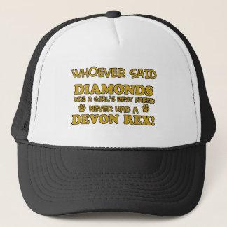 devon rex better than Diamonds Trucker Hat