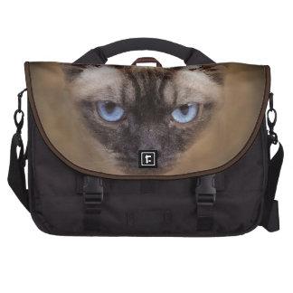 Devon Rex cat face Laptop Computer Bag