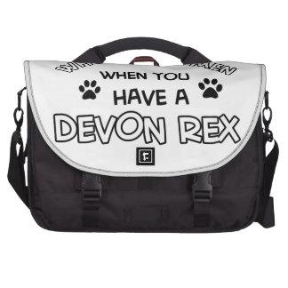 Devon Rex design Laptop Computer Bag