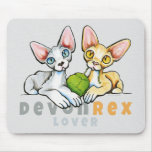 Devon Rex Lover Mouse Pad