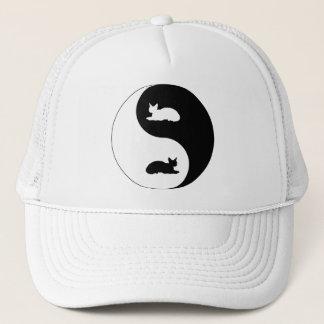 Devon Rex Yin Yang Trucker Hat