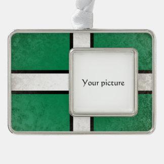 Devon Silver Plated Framed Ornament