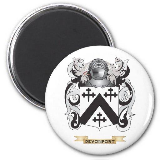 Devonport Coat of Arms Refrigerator Magnet