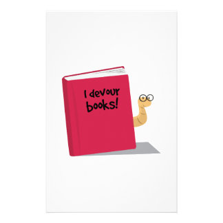 Devoro los libros papelería