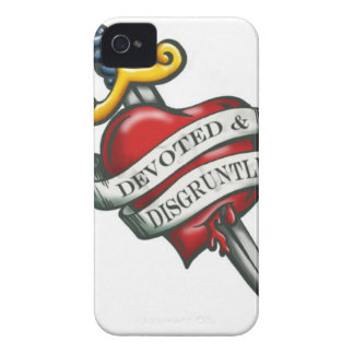 Devoted and disgruntled iPhone 4 cover