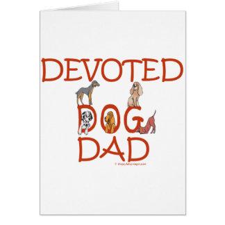 Devoted Dog Dad Greeting Card