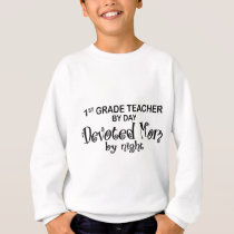 Devoted Mom - 1st Grade Sweatshirt